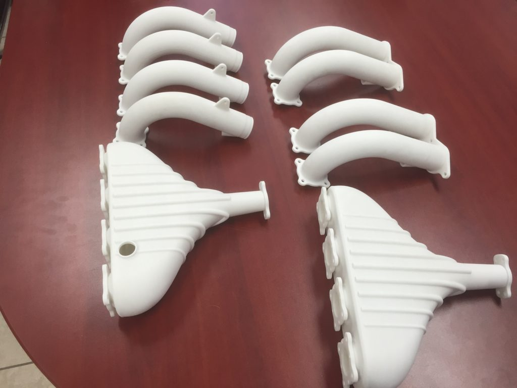 SLS Production components 3d printing