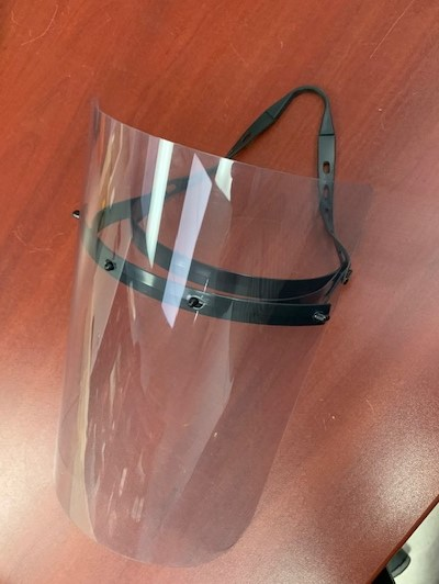 PPE Face Shield Molded